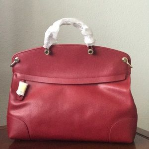 New Furla Cherry Large  Piper Handbag Crossbody